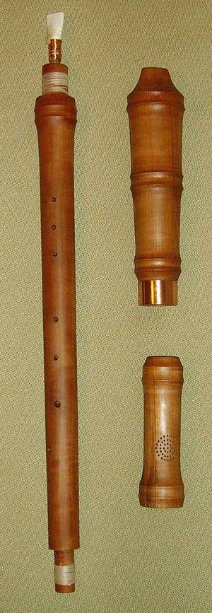 CORNAMUSA.   Instrumento de viento de doble lengüeta