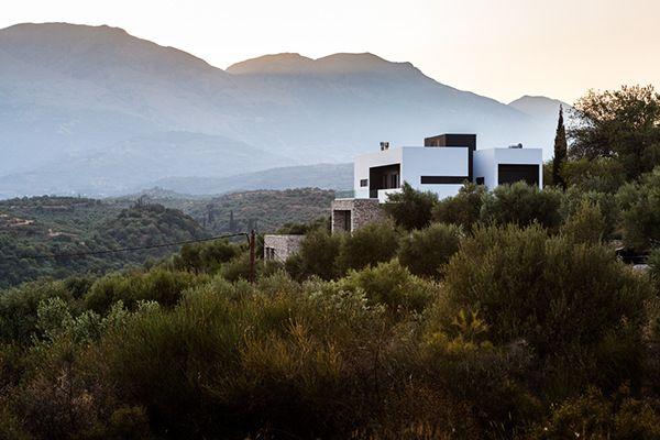 Villa project in Sparta, Greece