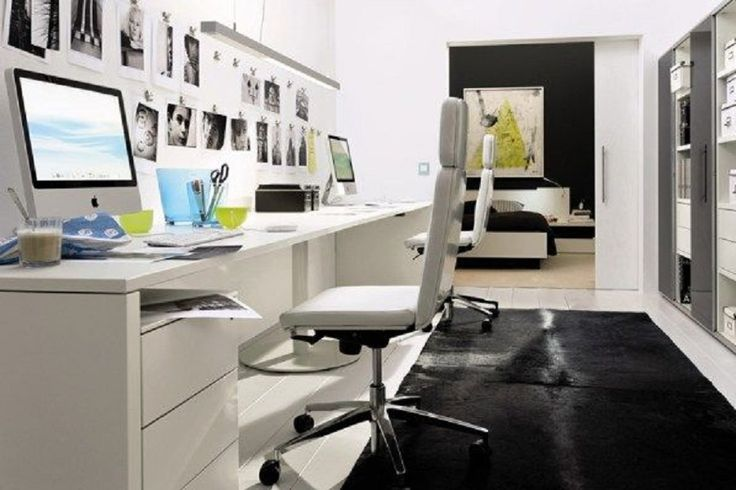 Best Home Office Ideas: Best 20 Comfortable Home Office Decoration Ideas