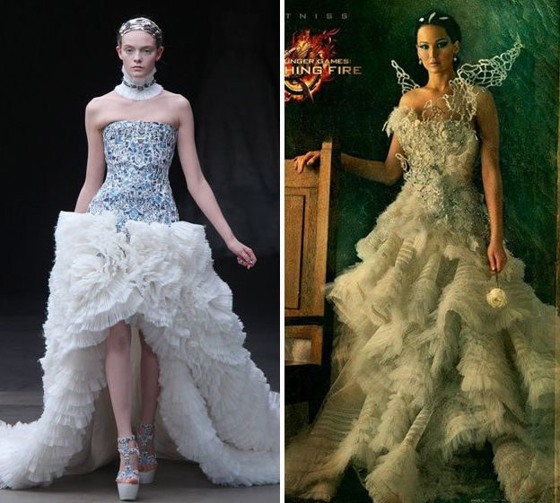 Cinderella Wedding Dress Up Games Online White Camo: Katniss Everdeen Wedding Dress