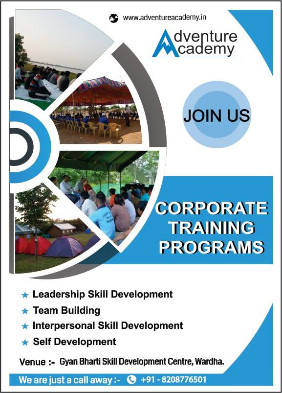 Corporate training program explore various skills and the