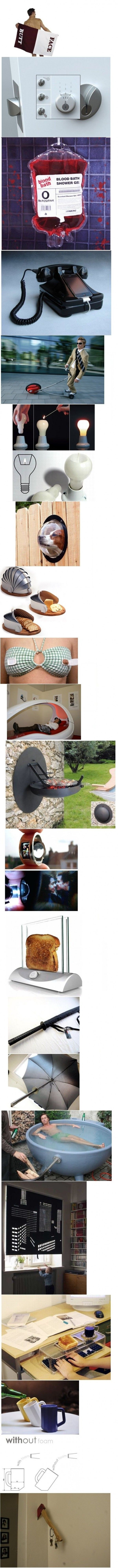 Crazy Inventions! Some people just have way too much free time on their hands.. Thank God! :D