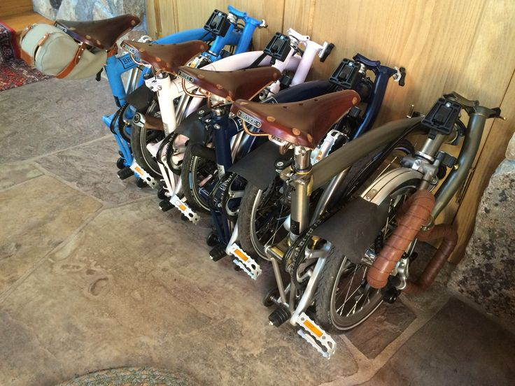 Required equipment next to your front door & 93 best Folding Bikes images on Pinterest | Bicycling Cycling tours ...