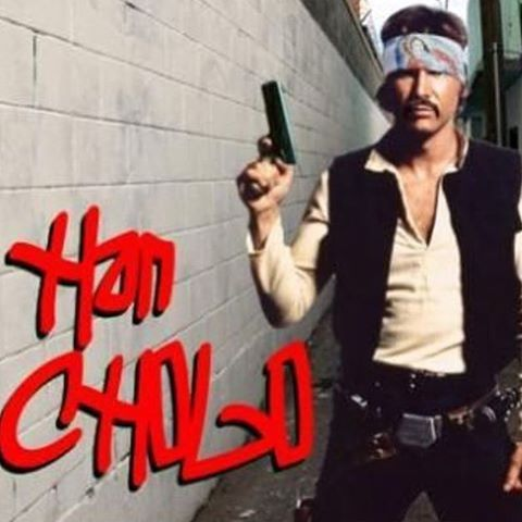 Han Cholo. May the force be with you, ese! #hancholo #estarguars