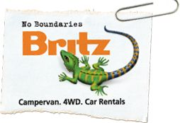How to travel the world on a small budget: Britz Campervan Hire Australia