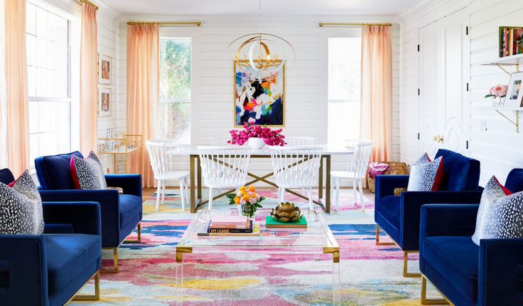 """20 """"One Room Challenge"""" Makeovers That'll Inspire You to Roll Up Your Sleeves http://www.housebeautiful.com/design-inspiration/home-makeovers/g4429/one-room-challenge-makeovers-2017/"""
