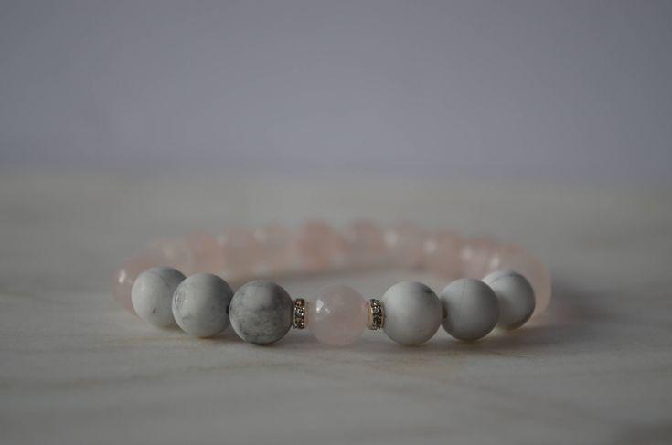 Excited to share the latest addition to my #etsy shop: Love Bracelet. Stretch Bracelet. Relationship Bracelet. Anxiety Release Bracelet. Self Love Bracelet. Reiki Bracelet.