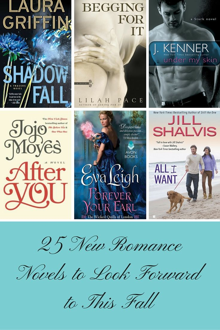 25 New Romance Novels to Look Forward to This Fall