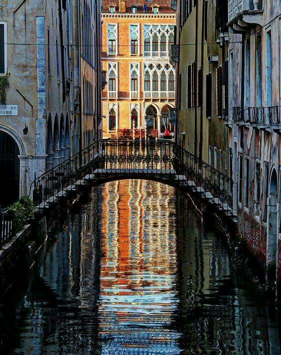 Venice: reflections.