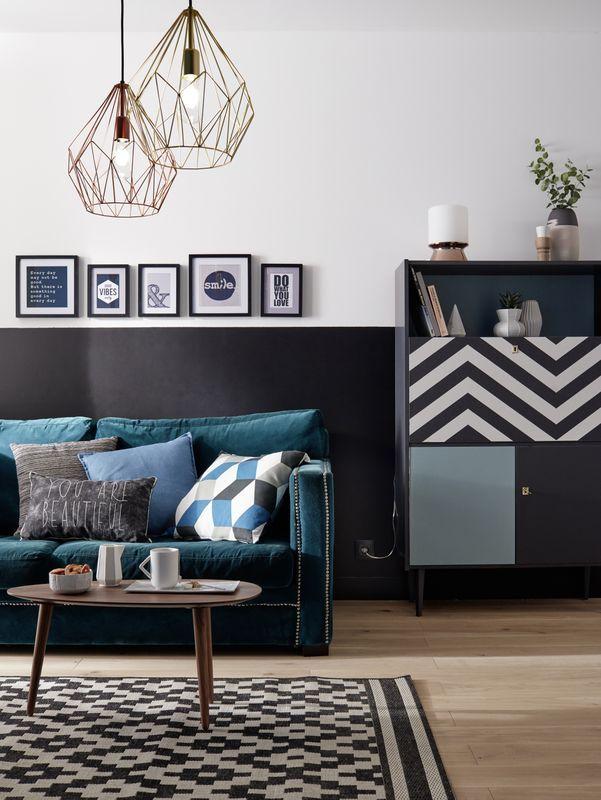 Un tapis scandinave design pour ajouter une touche nordique à votre salon