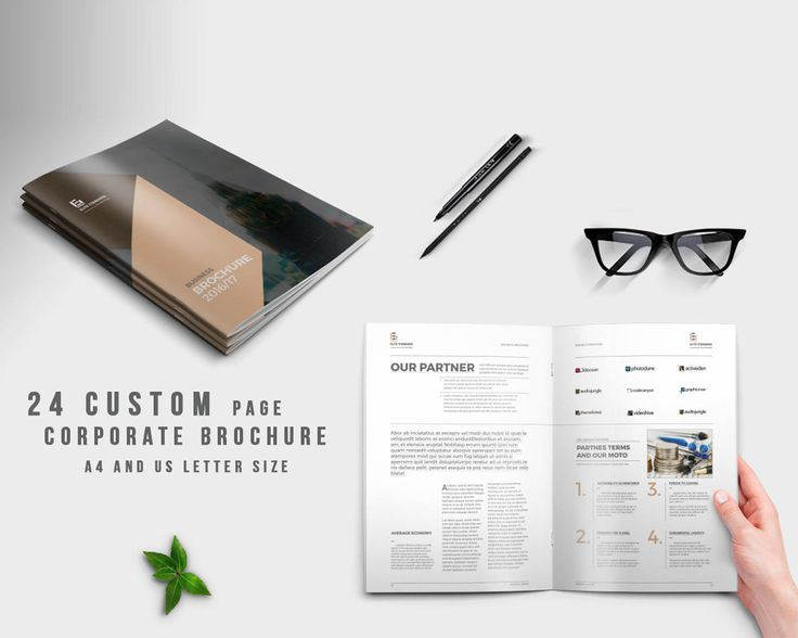 94 best Brochure 2017 images on Pinterest Brochure template - free blank tri fold brochure templates