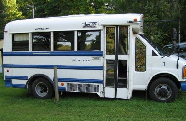 DIY School Bus Conversion to Motorhome For Sale Photo