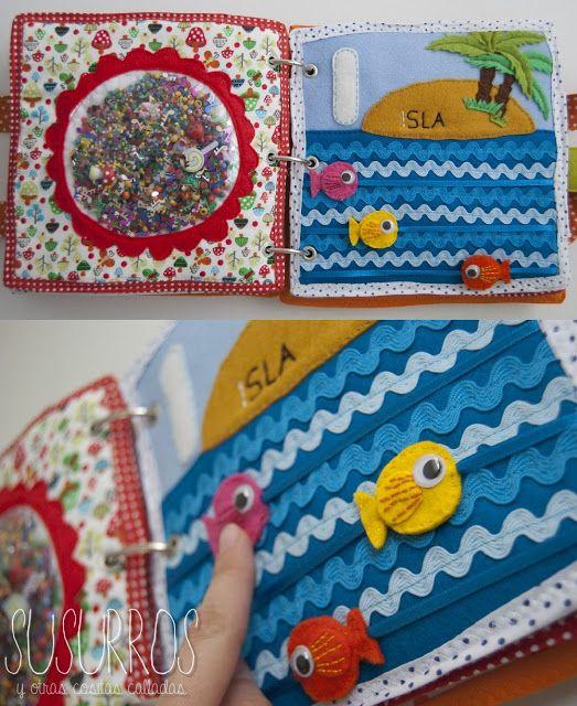 Cute quiet book ideas: Mi libro de juegos                                                                                                                                                      Más