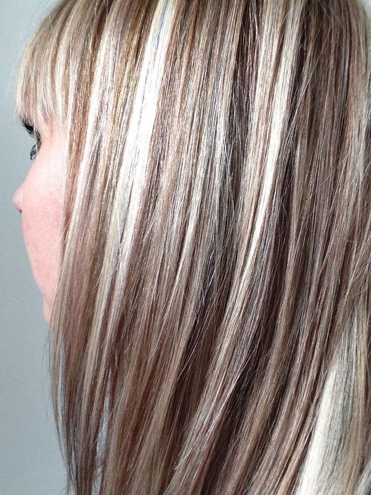 Ash Blonde Lowlights Hairstyles Pinterest