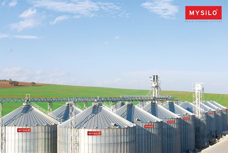 Mysilo llave En Mano Soluciones Ofertas www.mysilo.com/es #cereales #almacenamientodegranos #acero #silos