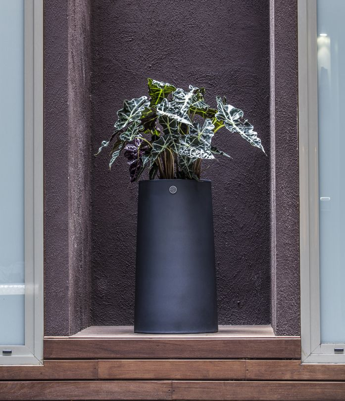 NOVO - Perfect versatility to suit any functional localization #contract #design #hydroplanter #barcelona Green Soul & Hobby Flower www.hobbyflower.com