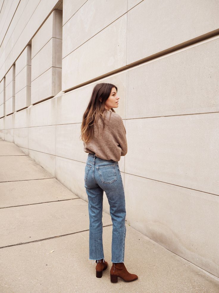straight leg denim under $90 (plus the boots to wear with 'em) 1