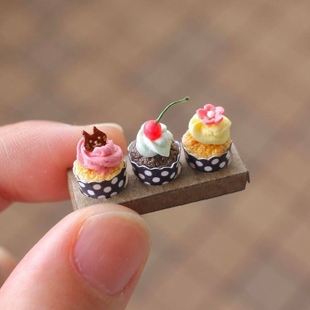 Cupcakes ♡ ♡ By Tomoko Misumi