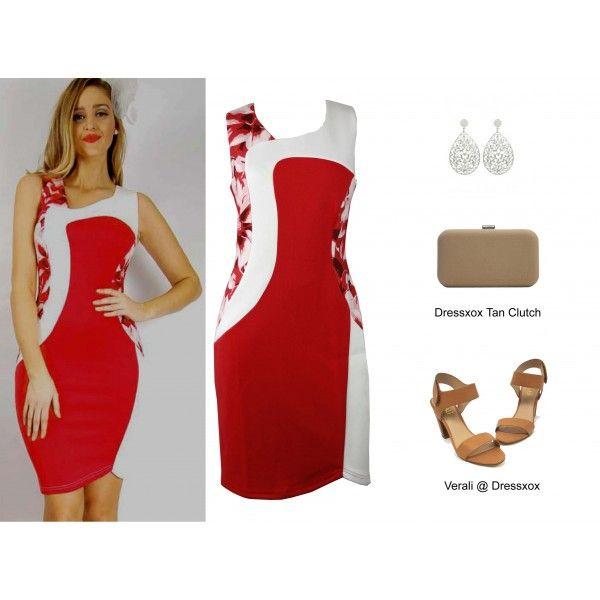 Bayene Colour Block Career Dress