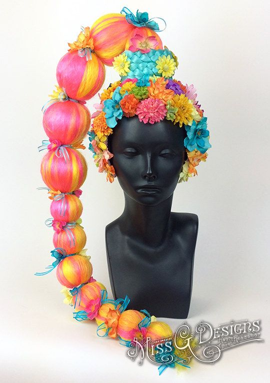 Flower Headdress by MissGDesignsShop on Etsy