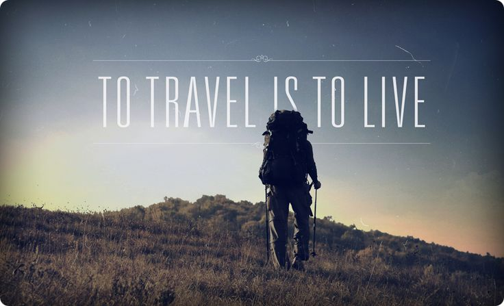 To travel is to live. #TravelQuotes