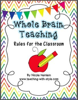 Whole Brain Teaching Rules for the Multicultural Classroom FREEBIE.