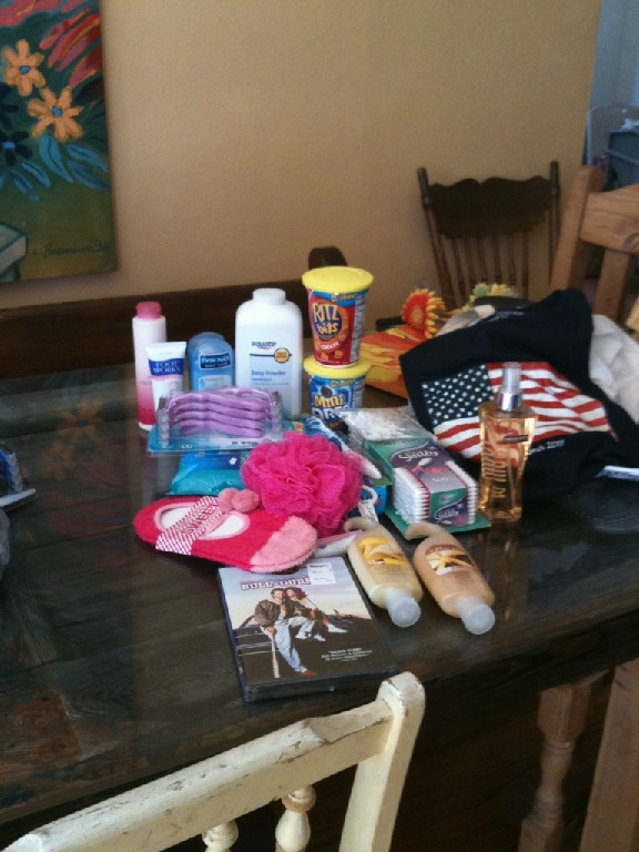 32 best care packages images on pinterest army wives deployment great package for military students negle Choice Image