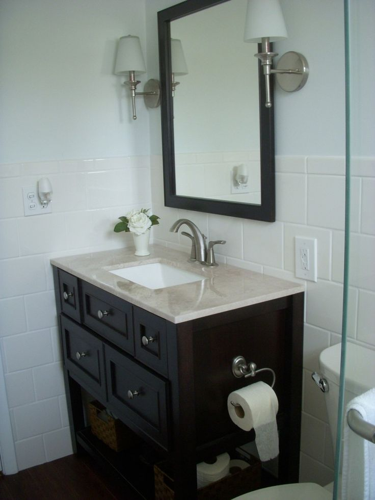 Daddy Wants To Redo Bathroom I Think Large Framed Mirror