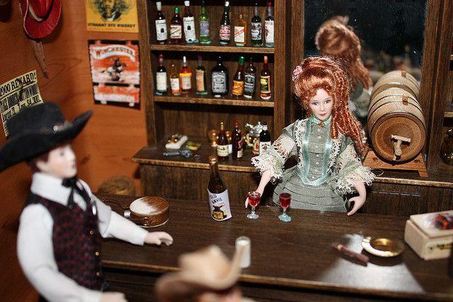 dollhouse western saloons   Western Saloon   Flickr - Photo Sharing!   Dollhouse Miniature 1:12 S ...