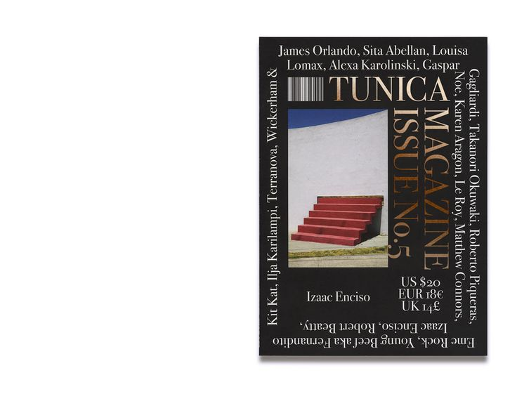 """Tunica define themselves as a """"Receptacle of international culture based in New York, which acts as a membrane to capture and showcase…"""