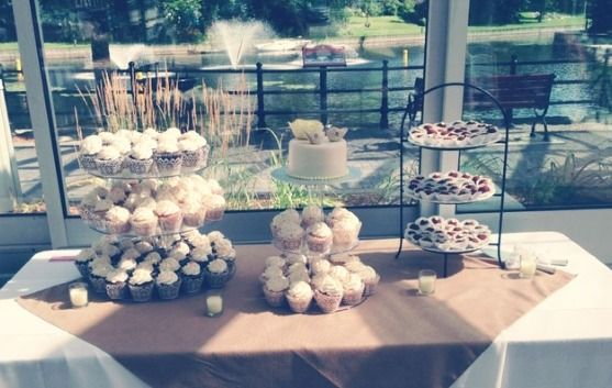 Vintage and Rustic Dessert Table <3 See More Cute Dessert Table Ideas at www.CarlasCakesOnline.com