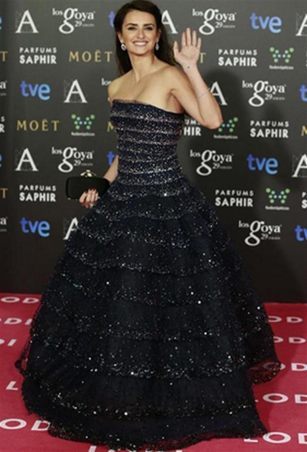 Penélope Cruz, espléndida con un Oscar de la Renta.  Foto:Reuters