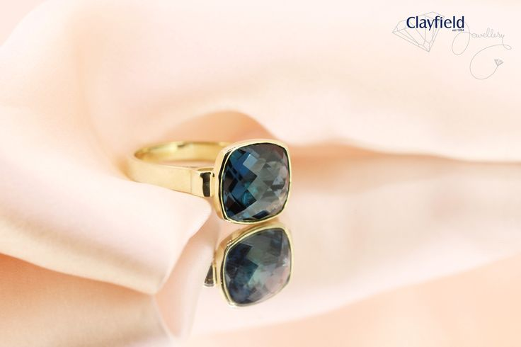 London blue topaz ring, by Clayfield Jewellery in Nundah Village - North Brisbane