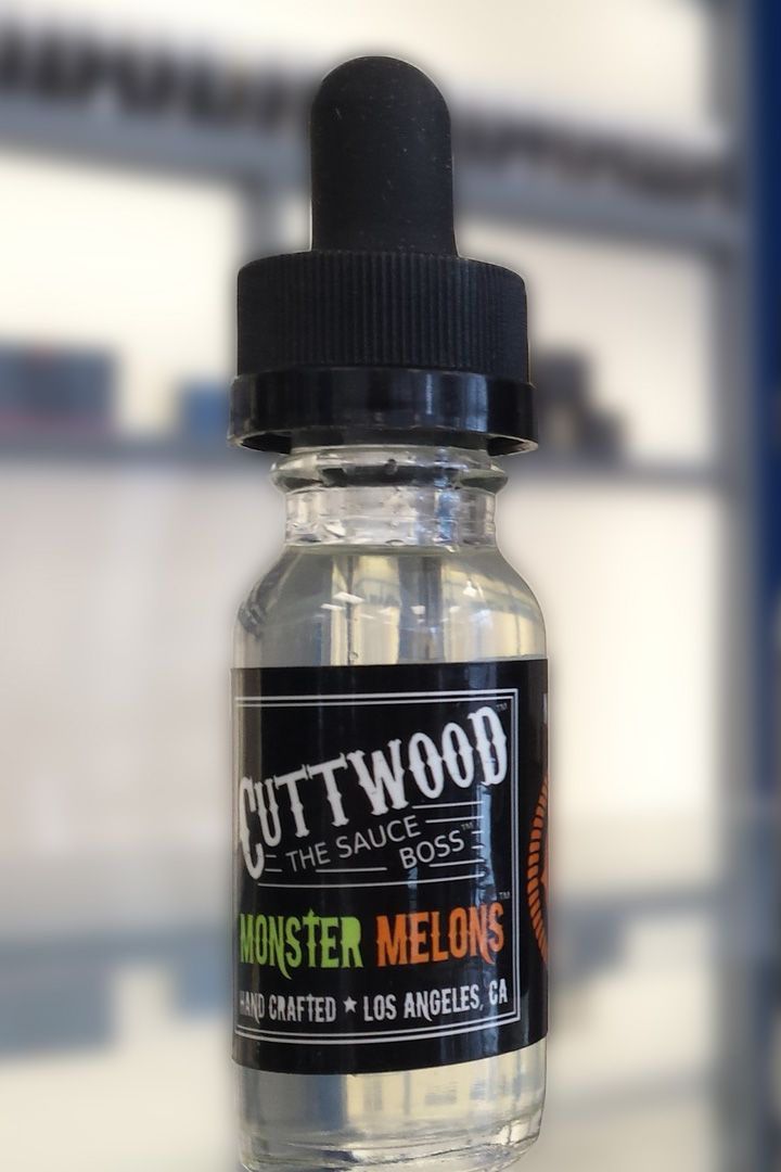 Cuttwood's Monster Melon is one vape juice for anyone who likes fruity flavors. When I first picked this juice up, I first noticed a slight crisp to the hit and mistaked the flavor profile for having a prominent watermelon-honeydew flavor with hidden tastes of lemon.  Read my full review at vapify.co!