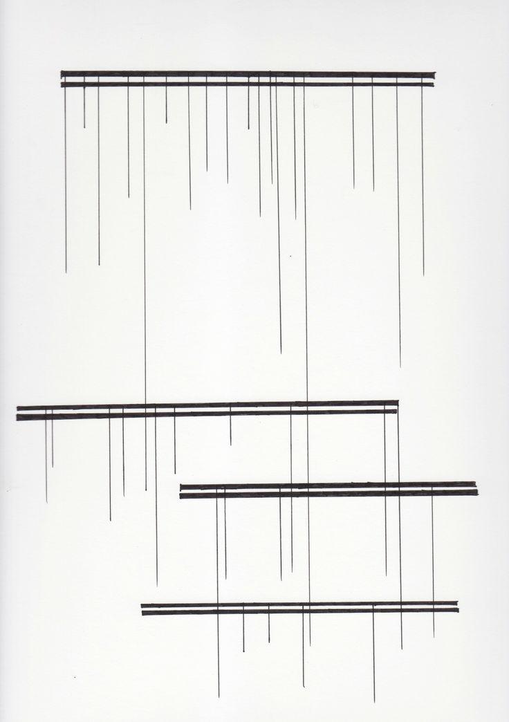 diagramism:  musical score inspired series