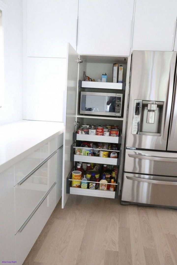 25 Small Kitchen Docot Ideas To Maximize The Space Ideas Kitchen Island Storage Ikea Kitchen Storage Kitchen Cupboard Storage