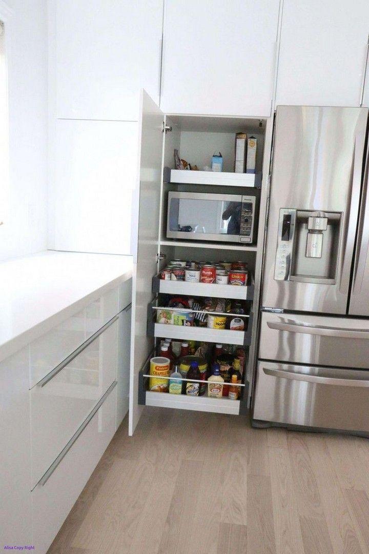 25 Small Kitchen Docot Ideas To Maximize The Space Ideas In 2020 Kitchen Island Storage Ikea Kitchen Storage Small Kitchen Storage