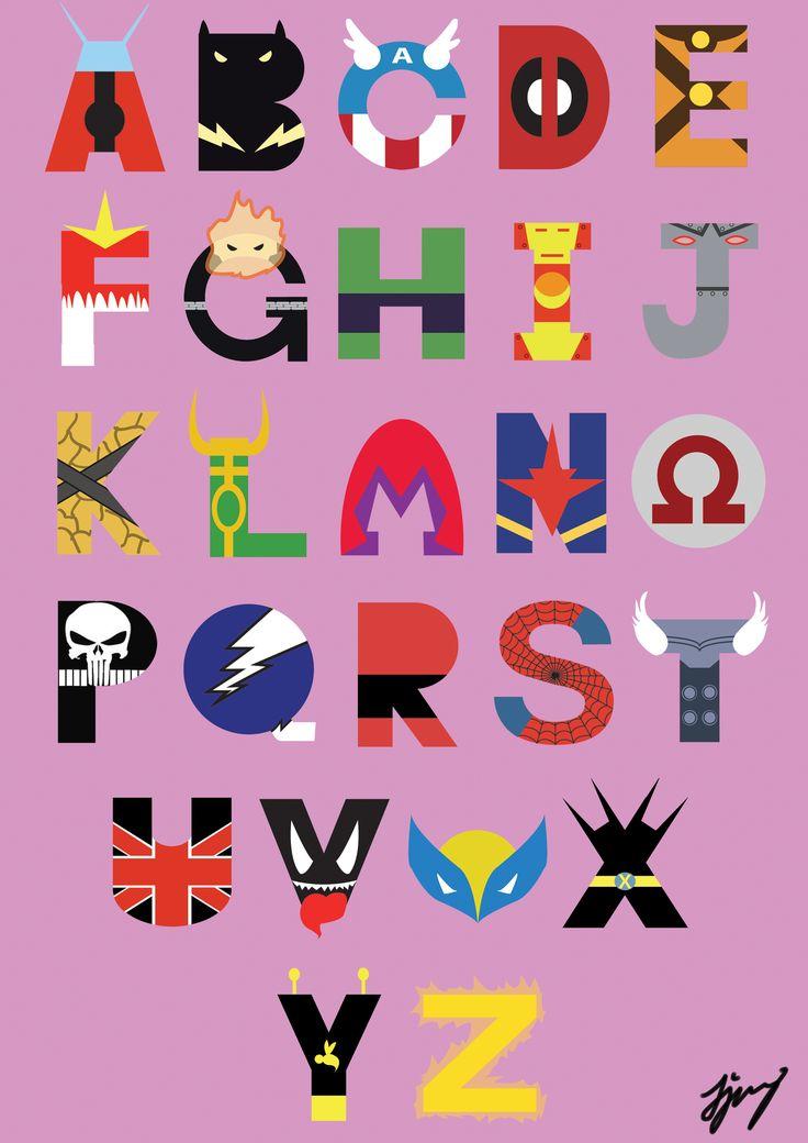 Marvel Superheroes Font by waynetan93.deviantart.com on @deviantART