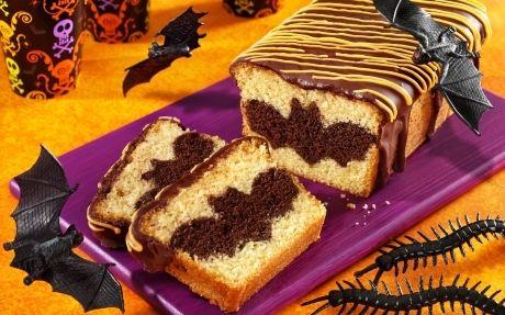 Surprise Batty Loaf Cake