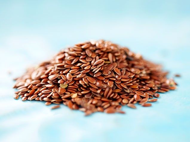 Flax seeds  May protect against: Breast and colon cancers