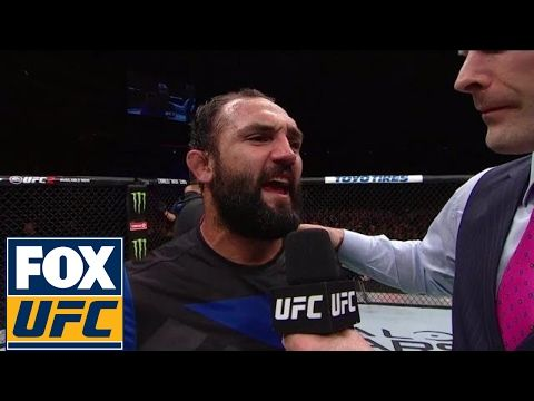MMA Johny Hendricks speaks after defeating Hector Lombard | UFC ON FOX