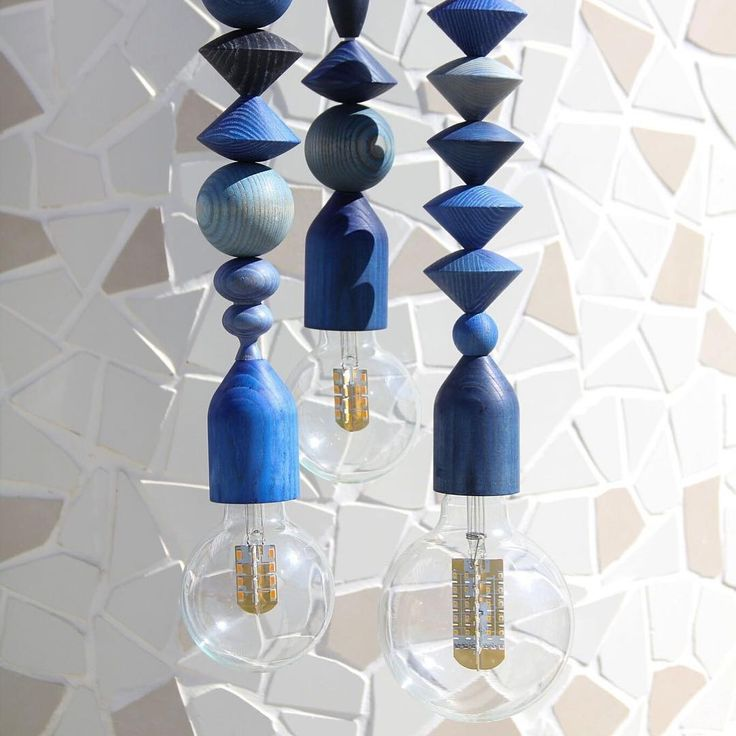 END OF LINE   Not much longer to get your hands on our Indigo Bright Bead pendants - just as beautiful on their own or as they are clustered - shop via link in bio. ⠀  ⠀  _⠀  ⠀  #marzdesigns #brightbeads #pendantlight #lightingdesign #fsctimber #handmade #australiandesign #interiordesign