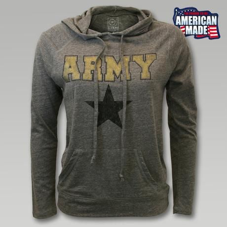 Official Army Women's Sweatshirts & Hoodies- Buy Licensed Army Women's Crewneck and Hooded Sweatshirts Online