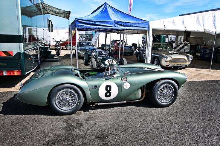 Aston Martin Garage (DB3S, DBR4, DB4GT, DP212, DB4GT Lightweight)