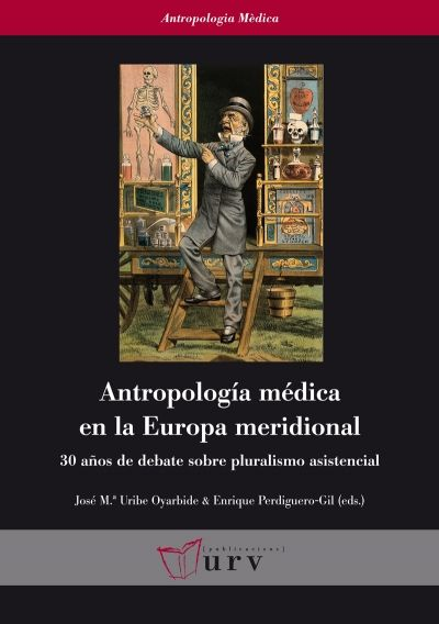 Antropología médica en la Europa meridional #anthropology #medecine #academic #book #research #bookcover #URV #university