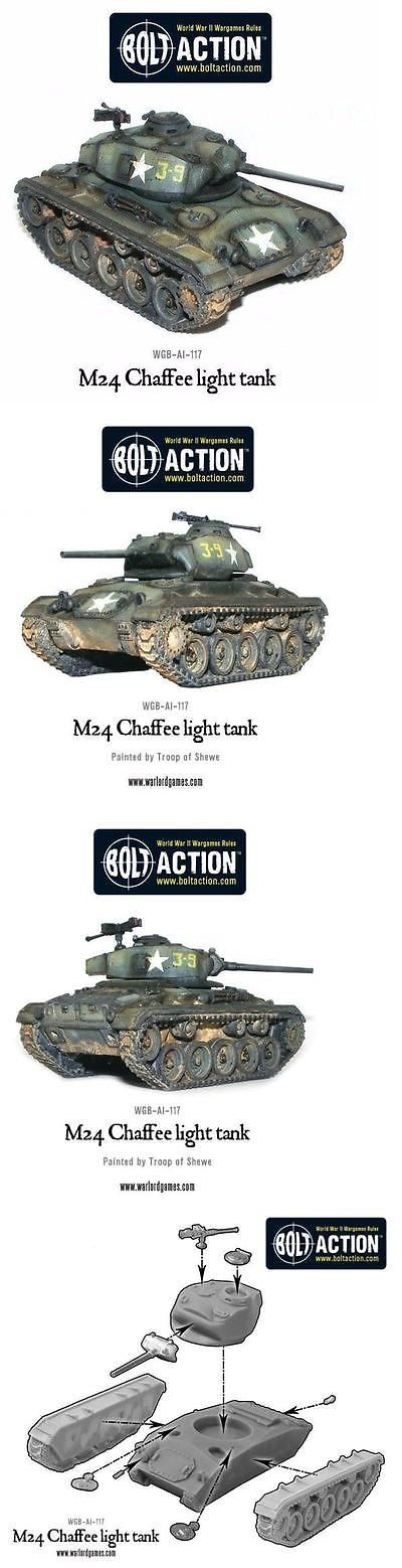 Terrain and Scenery 177640: Warlord Games M24 Chaffee Us Light Tank For Wwii Bolt Action - Wgb-Ai-117 -> BUY IT NOW ONLY: $33.99 on eBay!