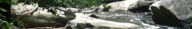 Rock Creek. Look for old stone bridge on beach drive