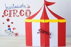 Hoy vamos a crear unas invitaciones de circo! Si para la próxima fiesta infantil os toca organizar la temática, aquí os dejamos unas invitaciones de cumpleaños para una fiesta del circo muy divertidas y fáciles de hacer. Sólo necesitaréis cartulina...