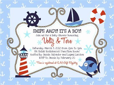 Find This Pin And More On Nautical Baby Shower Theme By Alitzamariern.