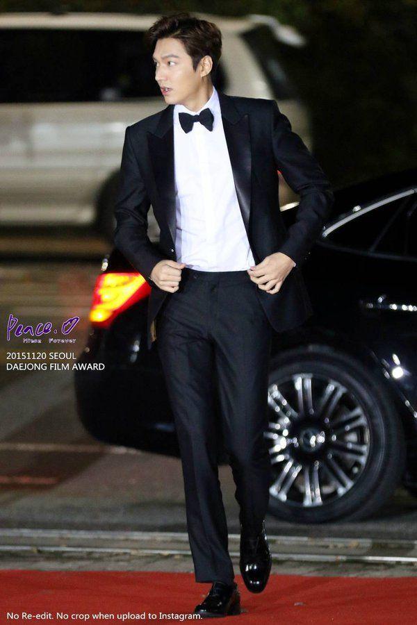 Lee Min Ho, Daejong Awards, 20151120.